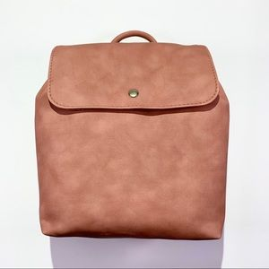 Universal Thread Blush Pink Flap Backpack NWT